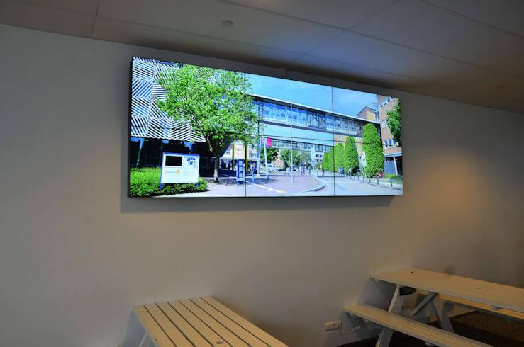 TSS / Evado Narrowcasting Videowall