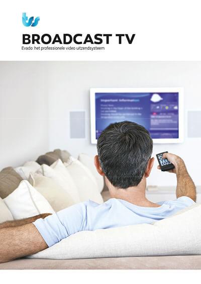 TSS / Evado Broadcast TV brochure