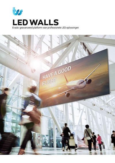 TSS / Evado Narrowcasting LED Walls brochure