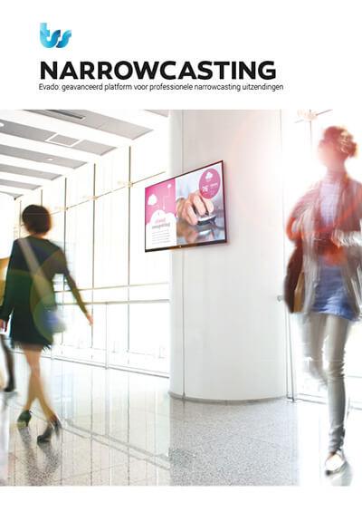TSS / Evado Narrowcasting brochure