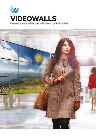 TSS / Evado Narrowcasting Videowalls brochure