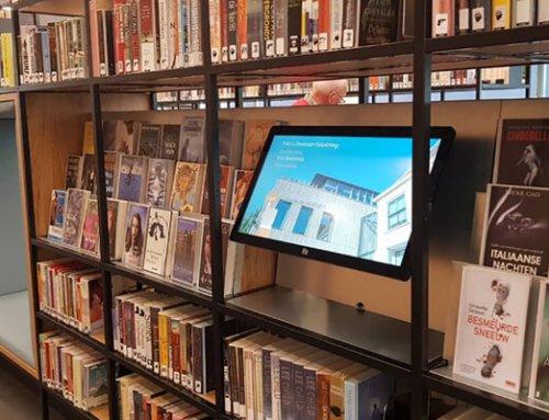 Evado bij Bibliotheek Deventer