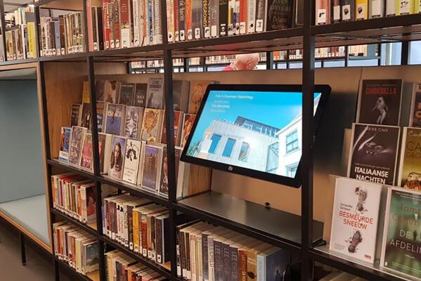 TSS / Evado Narrowcasting Bibliotheek Deventer