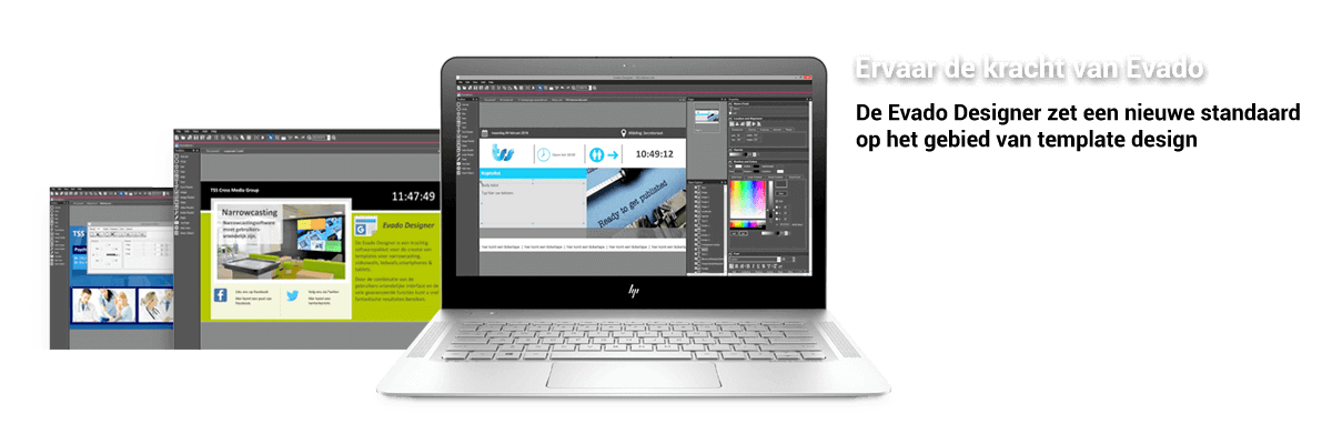 TSS / Evado Narrowcasting Content Designer