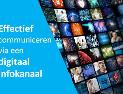 Infokanaal, het effectieve systeem voor het tonen van informatie.