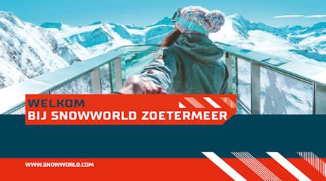 narrowcasting template snowworld - Evado TSS