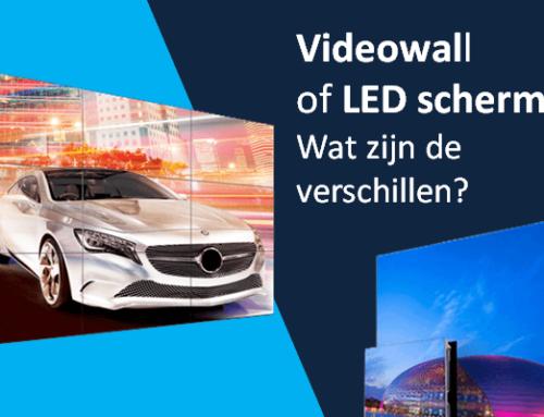 Videowall of LED scherm? Wat zijn de verschillen?