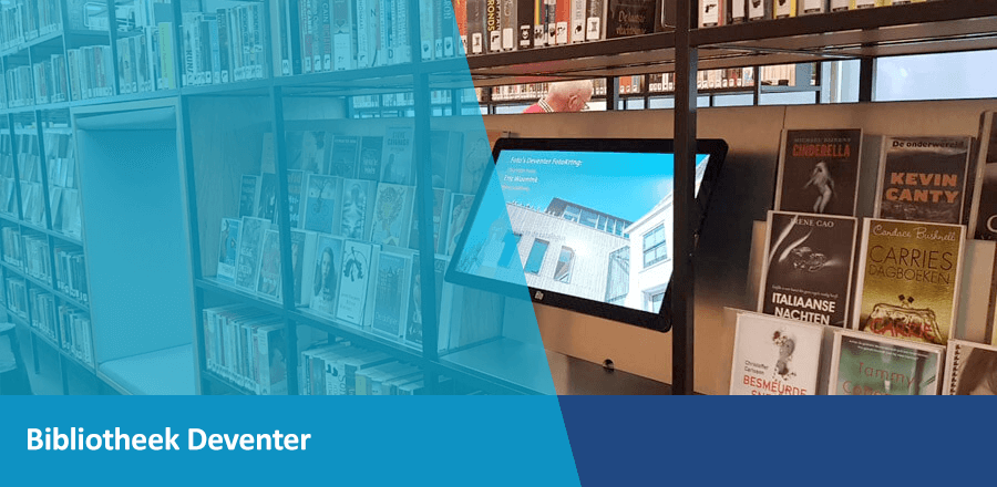 TSS Evado Bibliotheek Deventer Narrowcasting