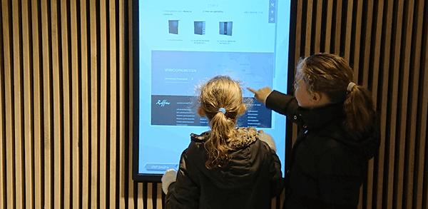 TSS Evado Deli Home Showroom Touch screens