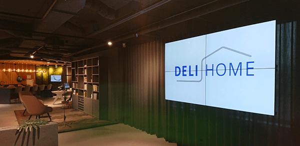 TSS Evado Deli Home Showroom-Video walls