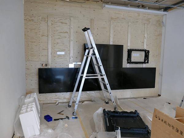 TSS Evado Dentalair videowall montage