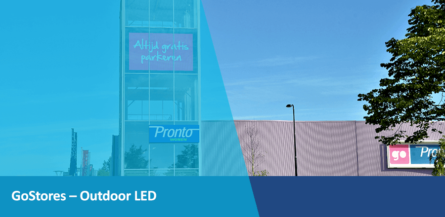 TSS Evado GoStores Outdoor LED Narrowcasting
