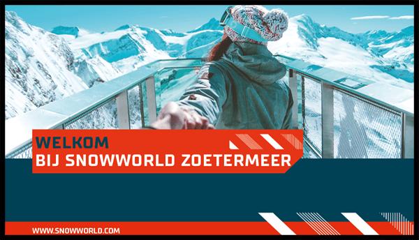 TSS Evado Snowworld Narrowcasting Content
