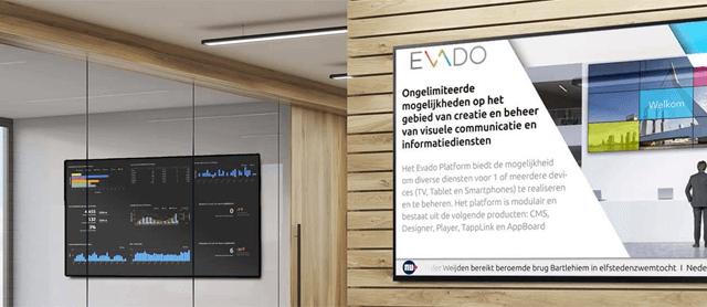 Evado Narrowcasting Oplossingen