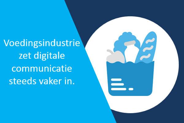 voedingsindustrie en digitale communicatie