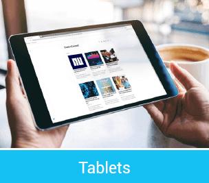 publiceren naar tablets