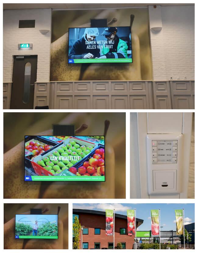 Fruitmasters 98 inch scherm