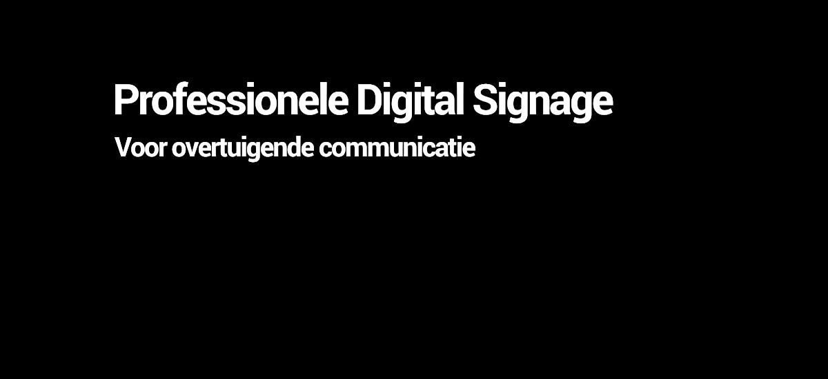 Professionele Digital Signage met Evado - TSS