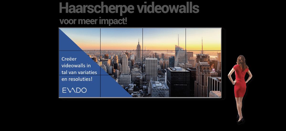 Videowalls met impact!